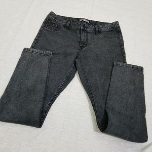 CAbi Black Washed Skinny Jeans SZ 8